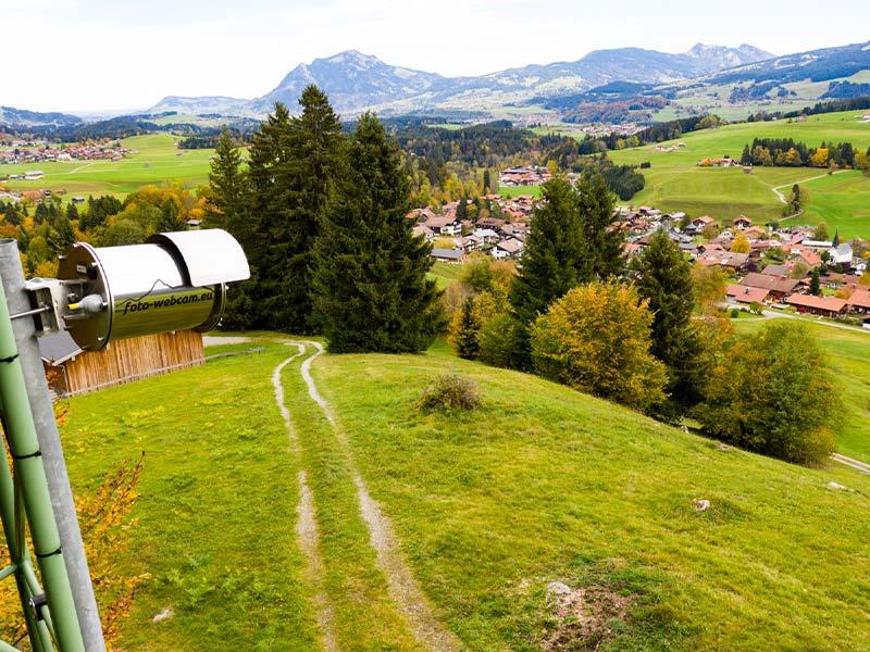 Foto Webcam am Obermaiselstein