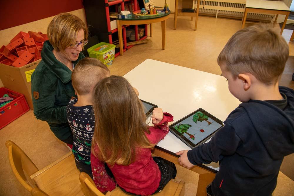 Medienkompetenz im Kindergarten Spiegelau