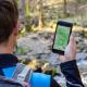 Wanderstempel digital sammeln, das Gipfelbuch immer dabeihaben: die Ferienregion Nationalpark Bayerischer Wald bietet Wanderfans seit neuestem die Digitale Wandernadel fürs Smartphone an