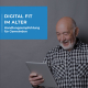 Das BLADL-Team hat zusammen mit dem Fraunhofer Institut IIS in Nürnberg eine Handlungsempfehlung für digitale Bildungsangebote für ältere Menschen herausgegeben.